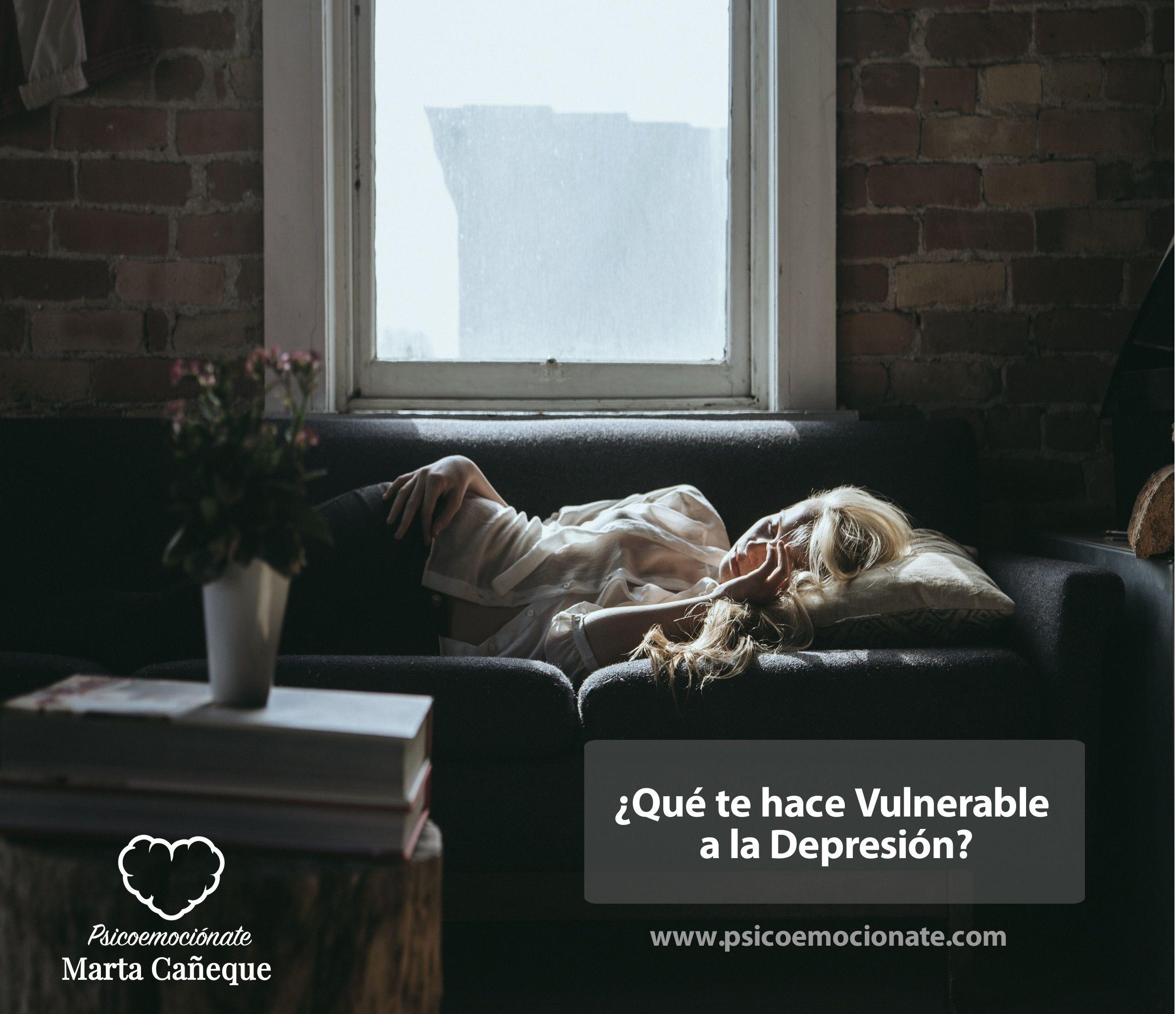 Vulnerabilidad Depresión psicoemocionate