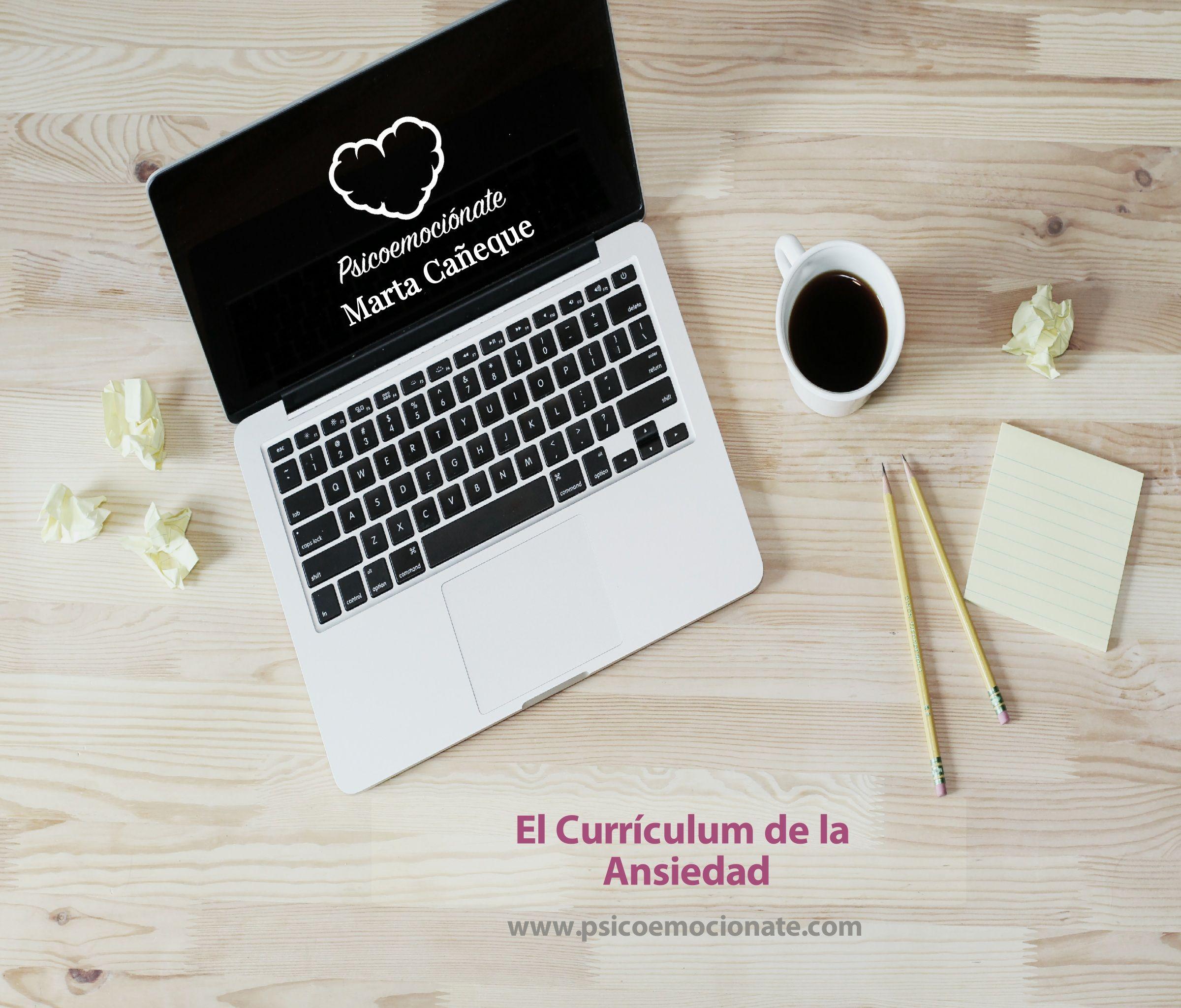 Curriculum ansiedad psicoemocionate