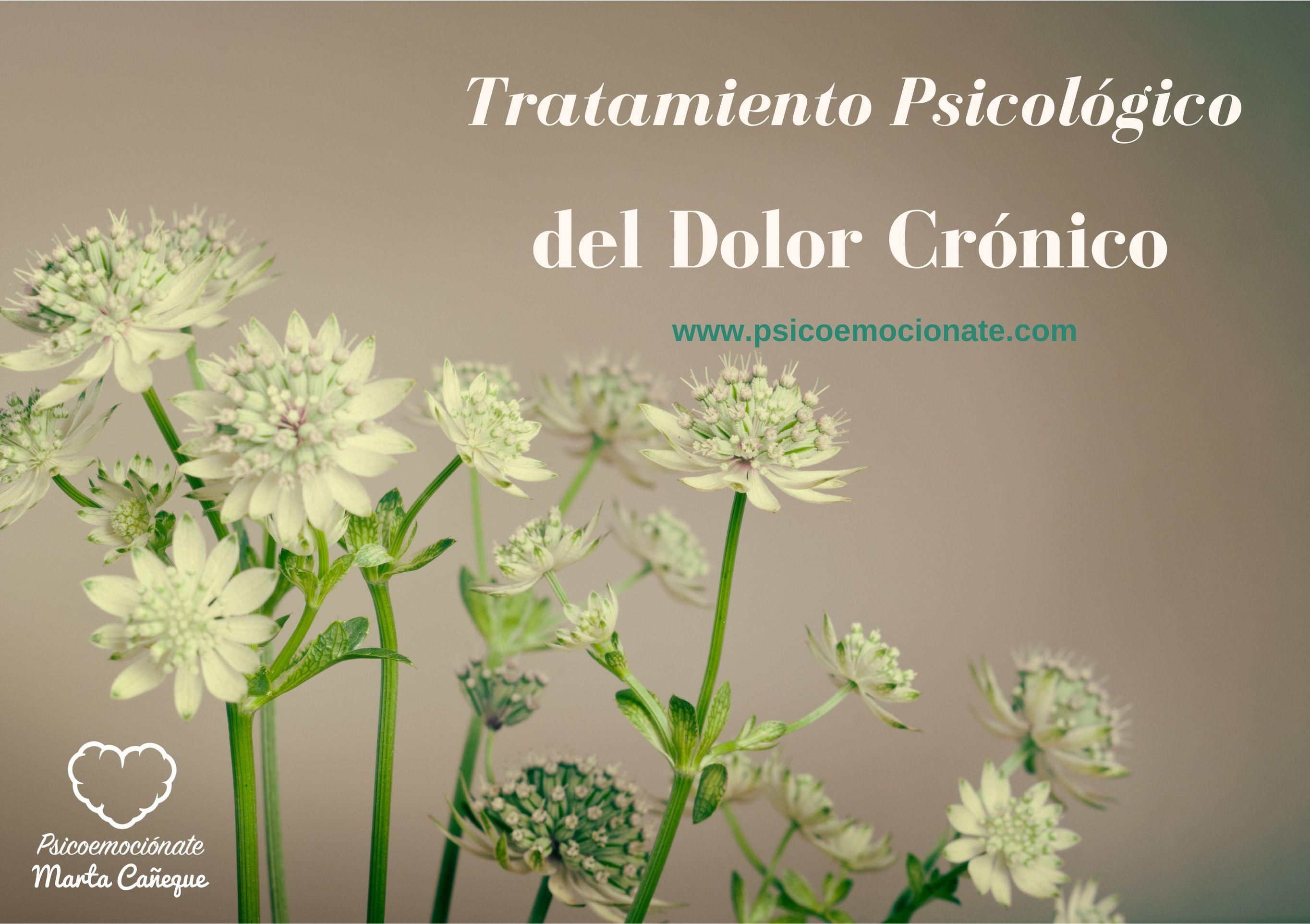 Tratamiento Psicológico Dolor Crónico psicoemocionate
