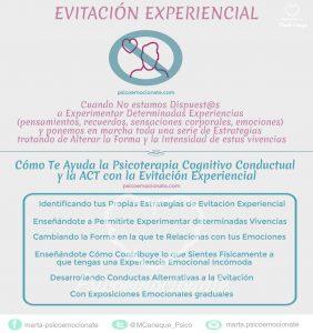 Evitacion Experiencial Psicoemocionate