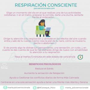 Respiracion consciente psicoemocionate